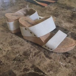 Shoes —wedges